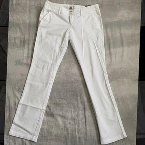 NWT White skinny short trousers American Eagle